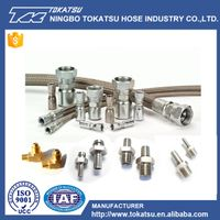 Food Grade High Precision Stainless Steel Hydraulic Hose Fittings