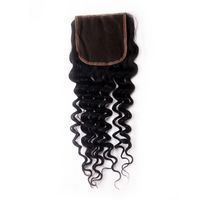 Stella Hair Wholesale Cheap Brazilian Human Hair Lace Closure Kinky Curl