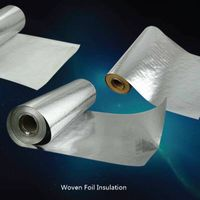 Fabric Aluminum Foil Construction Heat Barrier Insulation Material