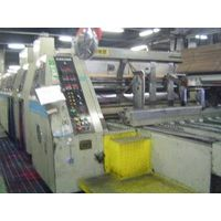Sell Used paper carton box machinery from Japan, flexo folder, die cutter, gluer thumbnail image