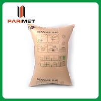 economic recycle cheap brown kraft paper inflatable buffer dunnage bag