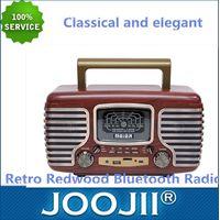 Retro Wooden Bluetooth FM,AM,SW Radio thumbnail image