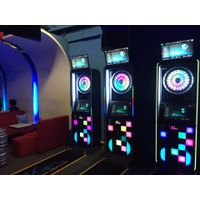 Amusement arcade dart machine with new game online