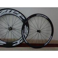 full carbon bike wheel,zipp808, carbon wheel set 88mm clincher