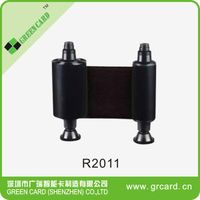Original High quality R2011 black ribbon for evolis pebble4 card printer