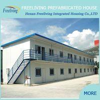 prefabricated houses south africa/ temporary cheap prefab house