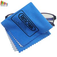 microfiber eyeglasses screen lens cleaner cloth with custom logo