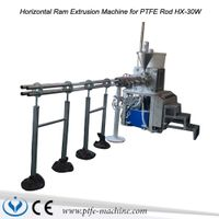 Horizontal PTFE Rod Extrusion Machine