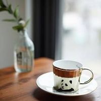 Luycho Mirror Cup & Saucer - Giant Panda