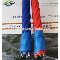 Polysteel used fishing rope, polypropylene combination rope