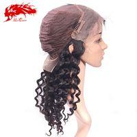 virgin full lace wig deep wave thumbnail image