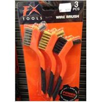 3pc mini wire brush WBS-3PCSHD