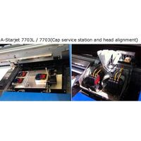 Three DX7 head printer 1.8m Eco Solvent For Adversting and pvc vinyle thumbnail image