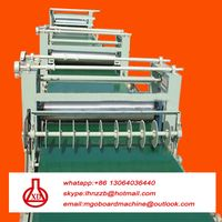 fireproof corrugated mgo roof tile machine