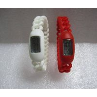 Silicone Twist Digital Watch