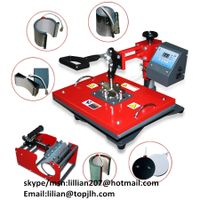 8 in 1 Combo Heat Press Machine dye sublimaiton heat transfer machine