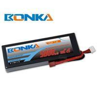 Bonka lipo battery 5800mah7.4V 90C/180C 2S for rc car