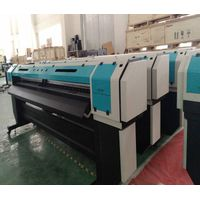 Double print head color Wide format printer machine