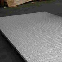 304 Stainless Steel Checked Pattern Sheet Plate