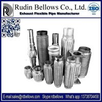Rudin Exhaust  Pipe Stainless steel exhaust flexible pipes for car automobile motor muffler