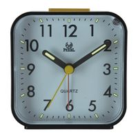 Wholesale simple travel sweep movement table clock with luminous