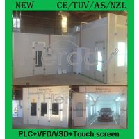 Herody Spray Booth PLC, VFD, Touch screen