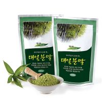Bamboo Powder 100g_Enjoy green freshness and health