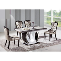 Dining table and chairs 0446-187 thumbnail image