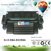 Sunjoy 98A toner cartridge 92298A compatible for LJ 4 4M 4 Plus 4M Plus 5 5M 5N