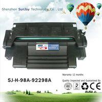 Sunjoy 98A toner cartridge 92298A compatible for LJ 4 4M 4 Plus 4M Plus 5 5M 5N