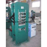 Frame type rubber plate vulcanizing machine thumbnail image
