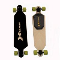 "1100W 22 Mph Hill Grade Cruise Control Electric Skateboard 36"" --42""Longboard Wireless Remote Contro"