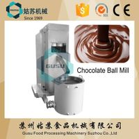 Gusu chocolate machinery professional ball mill for making chocolate