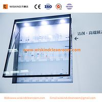 Fully Automatic Open Cleanroom Display Window For PharmaceuticalVisit Corridor thumbnail image