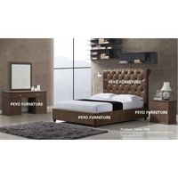 king size American style leather bedroom sets