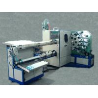 Automatic six-colored curved offset printer machine/plastic printing machine