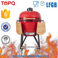 Gloosy Glazed Ceramic BBQ Grill for Backyard, Patio, Garden Use
