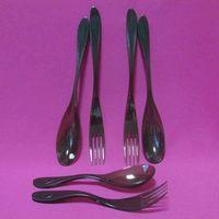 Wholesale disposable plastic flatware thumbnail image