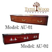 European Style Wooden Coffin