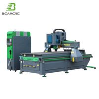 Woodworking cnc router for wood, plywood, MDF, acrylic 1325 wood CNC router machine thumbnail image