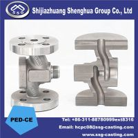 Investment Casting Valve Parts Stop Valve