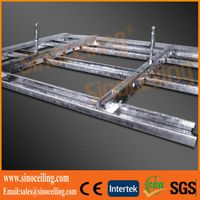 galvanized furring channel, ceiling channel, drywall metal profile thumbnail image