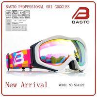 Top design fashion revo lens customized snow ski goggles thumbnail image