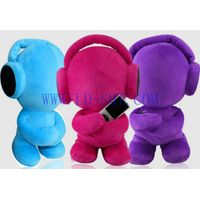 Cute Plush Toy Speaker for iphone ipod