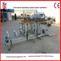 Air duct vanitation pipe welding machine