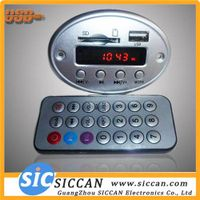 MP3 MODULE MP3+SD(MMC)+USB+ Display /FM+Remote Control SC-M003