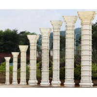 Classic-Roman Ionic Style Column Moulding-off white-ABS