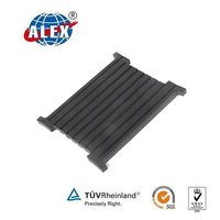 Railway Grooved Rubber Sole Plate for Channel Sleeper
