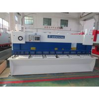 Hydraulic CNC guillotine shear machine 6mmx3100mm for metal fabrication