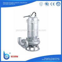 WQD/WQ series non-corrosive steel elctric dirty water pump